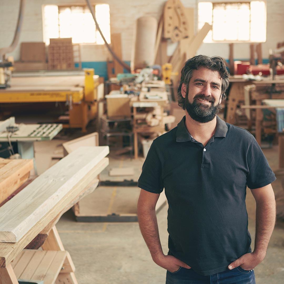 Atelier construction bois